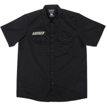 Genuine Gretsch Electromatic Logo Black Men's Workshirt, Size 2XL #0991939806