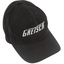 Gretsch Guitars Black Flexfit Hat with Gretsch Logo Large/XL #9224428002