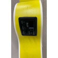 Amahi UK-205 EQ Acoustic Electric Concert Ukulele w/Built-In Tuner - Yellow