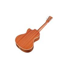 Cordoba 15TM-CE Tenor Size All Mahogany Electric Acoustic Ukulele Blem #N427