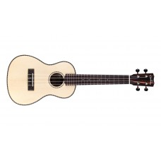 Cordoba Model 21C Concert Size Solid Spruce & Striped Ebony Ukulele