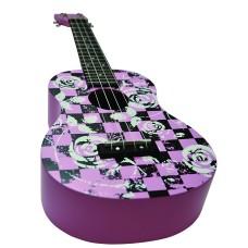 Daisy Rock Concert, 4-String Ukulele, Punk Pink (DRU-3)
