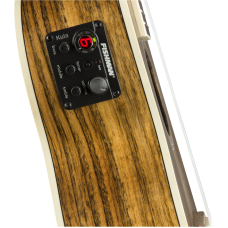 Fender Rincon Tenor Size Solid All Ovangkol Ukulele with Gig Bag - Demo