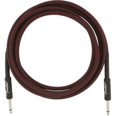 Fender® 10' Professional Series Red Tweed Instrument Cable #0990820061 - 10 ft