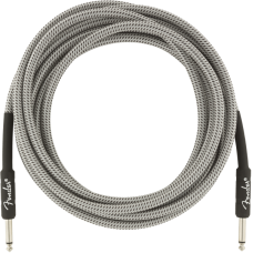 Fender® 15' Professional Series White Tweed Instrument Cable #0990820066 - 15 ft