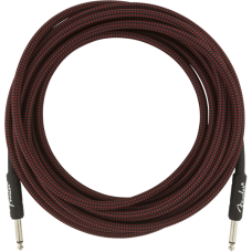 Fender® 18.6' Professional Series Red Tweed Instrument Cable #0990820067