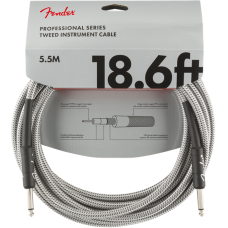 Fender® 18.6' Professional Series White Tweed Instrument Cable #0990820069