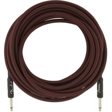Fender® 25' Professional Series Red Tweed Instrument Cable #0990820070 - 25FT.