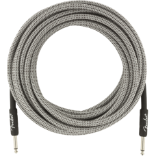 Fender® 25' Professional Series White Tweed Instrument Cable #0990820072 - 25FT.