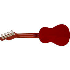 Fender Venice Model California Coast Series Cherry Finish Soprano Size Ukulele