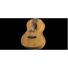 Luna Uke Bamboo Series Tenor Size Acoustic Ukulele with Gig Bag # UKE BAMBOO T
