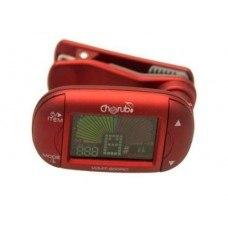 Cherub WMT-600RC RD Reversible Clip on Chromatic Metronome/Tuner For Guitar,Bass
