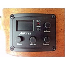 Alvarez Artist Series RU22SCE Soprano Size Electric/Acoustic Mahogany Ukulele