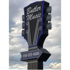 Eddy Finn Model EF-11-C - Flamed Okume Concert size Shark Fin Hole Ukulele