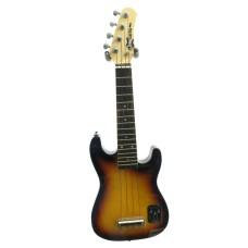 Effin Guitars UKESTART/SB solid body Electric Ukulele in a Sunburst Finish