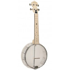 Gold Tone Little Gem Diamond Clear Concert Banjolele Banjo Ukulele  with Gig Bag