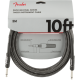 Fender® 10' Professional Series Gray Tweed Instrument Cable #0990820062 - 1