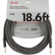 Fender® 18.6' Professional Series Gray Tweed Instrument Cable #0990820068