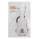PukanaLa Model FG-S-WH,  WHITE Soprano Ukulele Fiberglass Hardshell Case