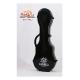 PukanaLa Model FG-C-BK Black Concert Ukulele Fiberglass Hardshell Case